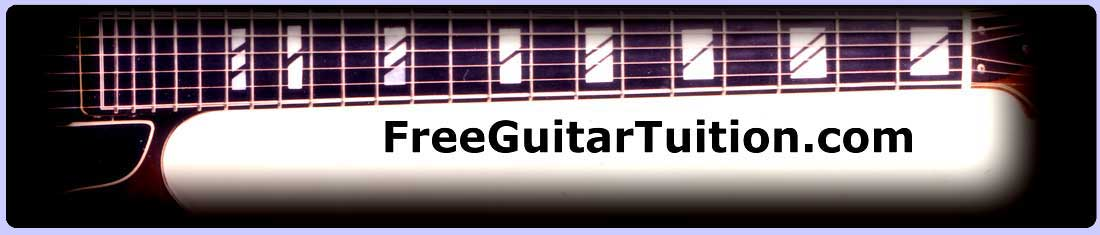 free guitar tuition