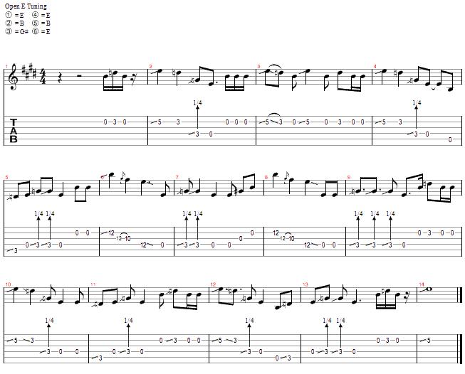 Slide Guitar Lesson 8